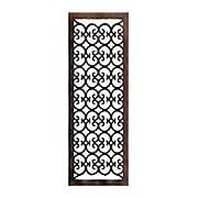 Solid Bronze Scroll Design Floor Grate For Return Air Intake or Heat Vents (item #RS-010HC-RVT-BPX)