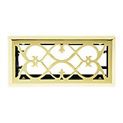 European-Style Floor/Wall Register with Adjustable Louver (item #RS-010WV-PVRX)