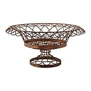 Large Round Petal Basket (item #RS-011AG-7850GR)
