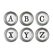 Individual Alphabet Letters A to Z (item #RS-011AG-D99X)