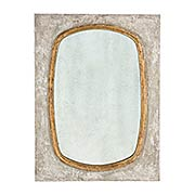 Oval Wall Mirror (item #RS-011AG-DM230)