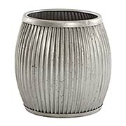 Galvanized Planter/Side Table (item #RS-011AG-G85)