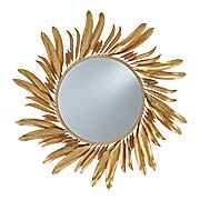 Folium Wall-Mount Decorative Mirror (item #RS-011CU-1108)