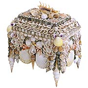Boardwalk Shell Jewelry Box (item #RS-011CU-1251)