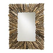 Beachhead Rectangular Mirror (item #RS-011CU-4344)