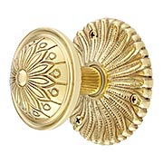 Hollywood Regency Door Set With Helios Knobs (item #RS-01BA-D05-K142A-HLSX)