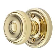 Classic Rosette Set With Waverly Door Knobs (item #RS-01EM-8100WX)