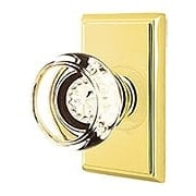 Providence Door Set With Georgetown Crystal Glass Knobs (item #RS-01EM-8121GTX)