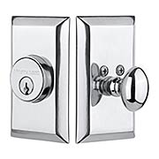 New York Single-Cylinder Deadbolt - 2 3/8