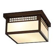 Glasgow Flush Mount Ceiling Light In Bronze Finish (item #RS-03AC-GCM-12X)