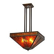 Prairie Pendant Chandelier In Bronze Finish (item #RS-03AC-PCH-18X)