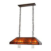 Prairie Island Pendant In Bronze Finish (item #RS-03AC-PH-18-36X)