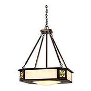 St. Clair Chandelier In Bronze Finish (item #RS-03AC-SCCH-21-GWC-BZ)