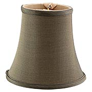 Silk Mini Bell Shade 4 1/2-Inch Height (item #RS-03BP-00681SX)
