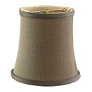 Silk Mini Bell Shade 4-Inch Height (item #RS-03BP-00682SX)