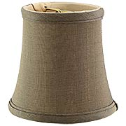 Silk Mini Bell Shade 3 1/2-Inch Height (item #RS-03BP-00683SX)