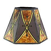 Empire Style Mica Mini Shade 4 1/4-Inch Height (item #RS-03BP-00751D)