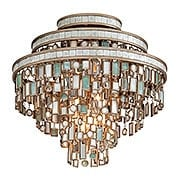 Dolcetti Three Light Flush in Silver (item #RS-03CO-142-33X)
