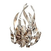 Graffiti 1-Light Sconce in Silver Leaf (item #RS-03CO-154-11X)