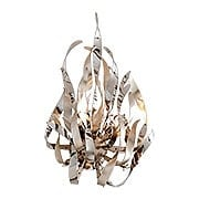 Graffiti 2-Light Sconce in Silver Leaf (item #RS-03CO-154-12X)