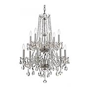 Traditional Crystal 12 Light Chandelier (item #RS-03CR-1137X)