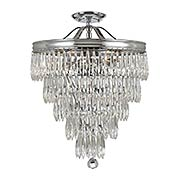 Chloe Semi-Flush Mount Ceiling Light (item #RS-03CR-120-CH-CEILING)