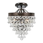 Calypso Semi-Flush Ceiling Light (item #RS-03CR-130CX)