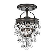 Calypso Mini Semi-Flush Mount Ceiling Light (item #RS-03CR-131CX)