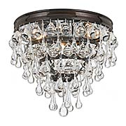 Calypso Flush Mount Ceiling Light (item #RS-03CR-135X)