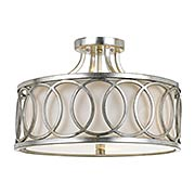 Graham Semi-Flush Mount Ceiling Light (item #RS-03CR-285-SA)
