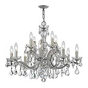 Maria Theresa Crystal 12 Light Chandelier (item #RS-03CR-4379X)