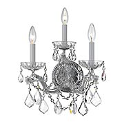 Maria Theresa Crystal 3 Light Wall Mount (item #RS-03CR-4403X)