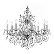 Maria Theresa Clear Crystal 9 Light Chandelier (item #RS-03CR-4408X)