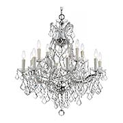 Maria Theresa Clear Crystal 13 Light Chandelier (item #RS-03CR-4412X)