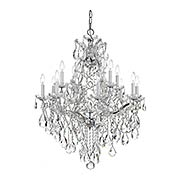 Maria Theresa Clear Crystal and Glass 13 Light Chandelier (item #RS-03CR-4413X)
