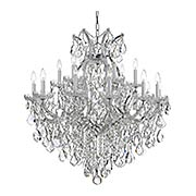 Maria Theresa Clear Crystal 19 Light Chandelier (item #RS-03CR-4418X)