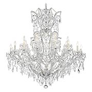 Maria Theresa Clear Crystal 25 Light Chandelier (item #RS-03CR-4424X)