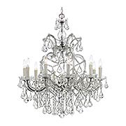 Maria Theresa Clear Crystal 11 Light Chandelier (item #RS-03CR-4438X)