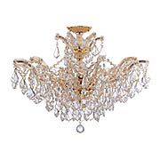 Maria Theresa 6-Light Semi Flush Mount Ceiling Light (item #RS-03CR-4439CX)