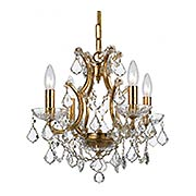 Filmore 4 Light Mini Chandelier (item #RS-03CR-4454X)