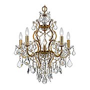 Filmore 6 Light Chandelier (item #RS-03CR-4455X)