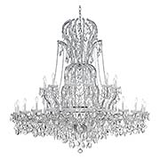 Maria Theresa Clear Crystal 37 Light Chandelier (item #RS-03CR-4460X)