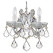 Maria Theresa Clear Crystal 2 Light Wall Mount (item #RS-03CR-4472X)