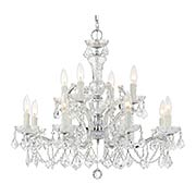 Maria Theresa Clear Crystal 12 Light Chandelier (item #RS-03CR-4479X)