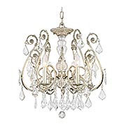 Regis 6 Light Chandelier (item #RS-03CR-5115-OS-CL-MWP)