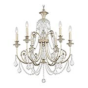 Regis 6 Light Chandelier (item #RS-03CR-5116-OS-CL-MWP)