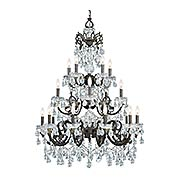 Legacy 20-Light Swarovski Strass Chandelier (item #RS-03CR-5190X)
