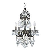 Legacy 4-Light Swarovski Strass Mini Chandelier (item #RS-03CR-5194X)