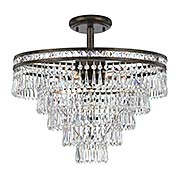 Mercer 6-Light Semi-Flush Ceiling Light (item #RS-03CR-5264CX)
