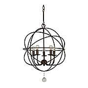 Solaris 5-Light Mini Chandelier (item #RS-03CR-9224X)